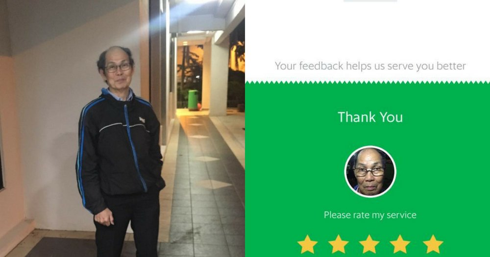 S'pore Grab driver gets out of car &amp; waits with female passenger for lift because it's past 2am  http:// bit.ly/2lun0Za  &nbsp;  <br>http://pic.twitter.com/kGZBv2oNUG