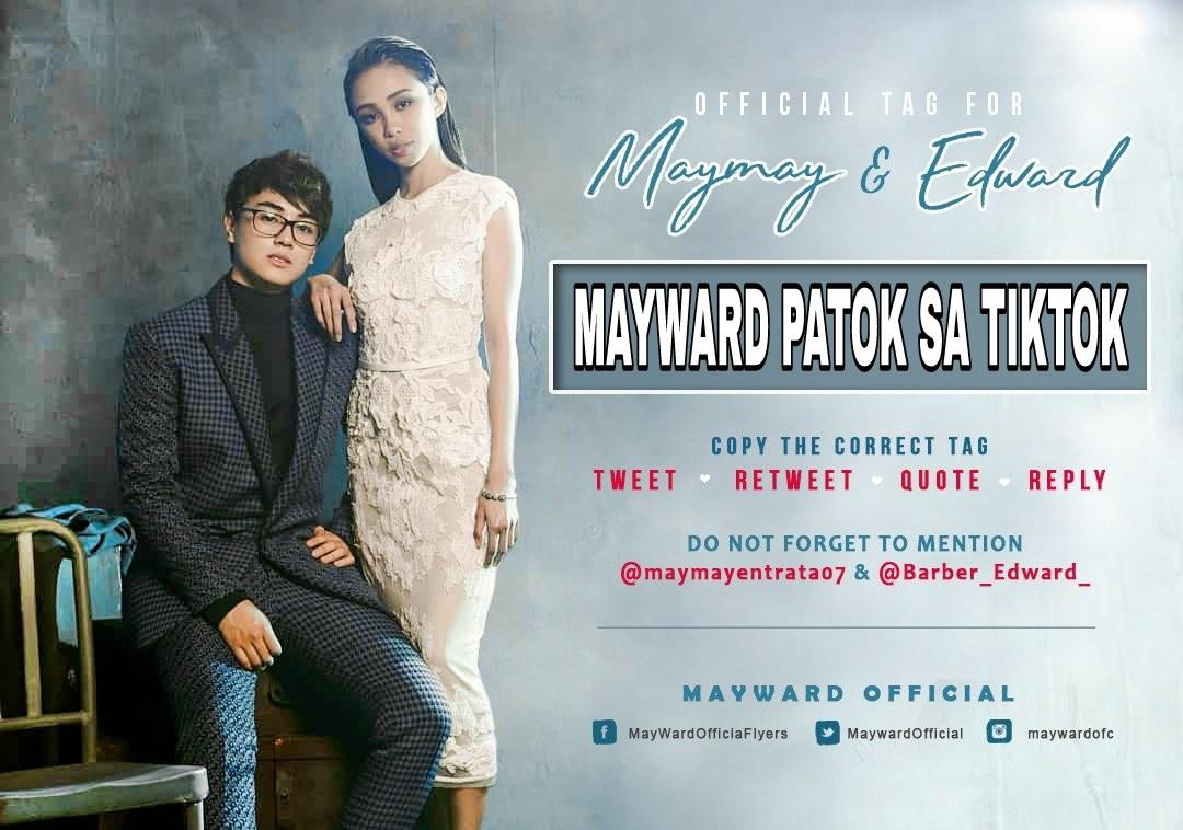 MAYWARD PATOK SA TIKTOK kaya naman catch them at Robinsons Manila today as in now na and use the official tagline used above.   @maymayentrata07 @Barber_Edward_<br>http://pic.twitter.com/kjuf6HSfwU