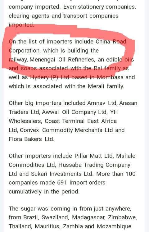 Trading Company List