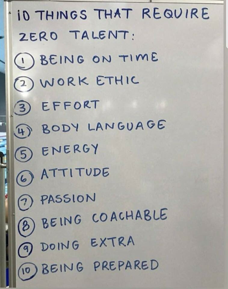 graphic about 10 Things That Require Zero Talent Printable titled Park Junior Academy (@ParkJAcad) Twitter