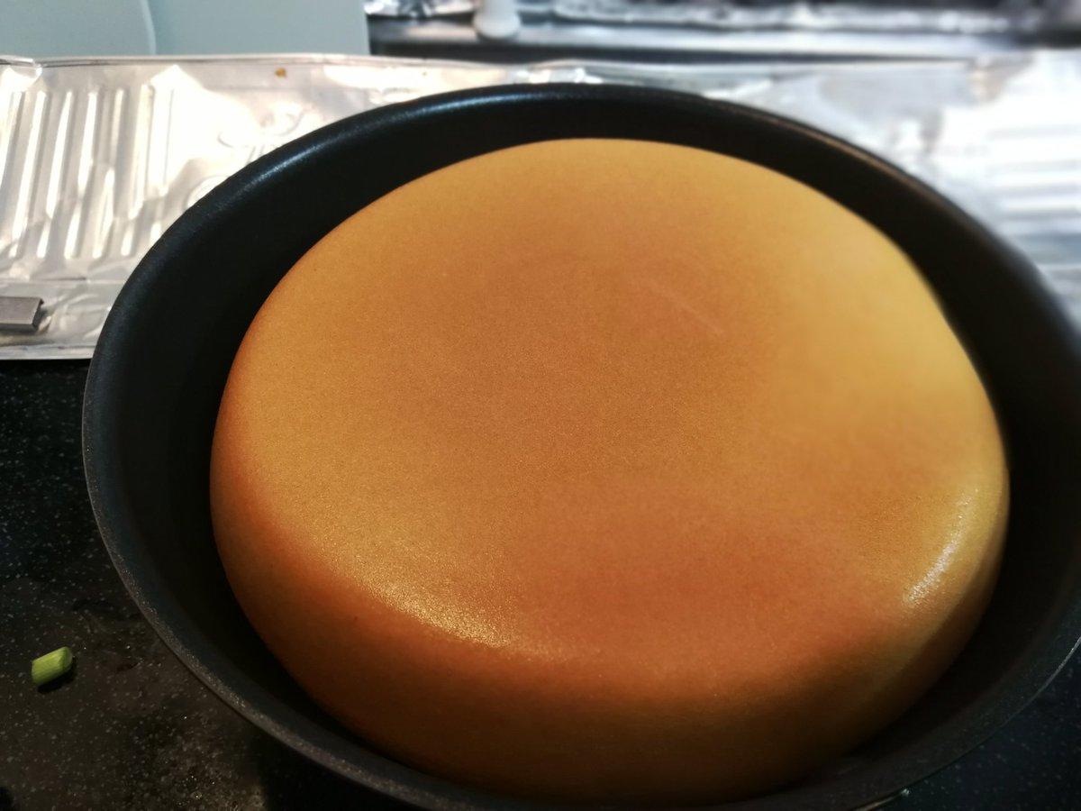 心の乱れがない時にのみ焼くことができると言う、乱れのないホットケーキ