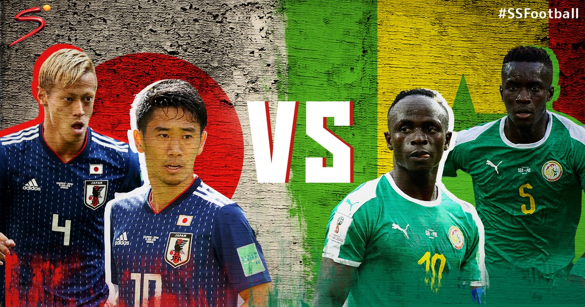 Japan will meet Senegal today in their first FIFA #WorldCup meeting with an African team since their 2-1 defeat against the Ivory Coast in 2014.