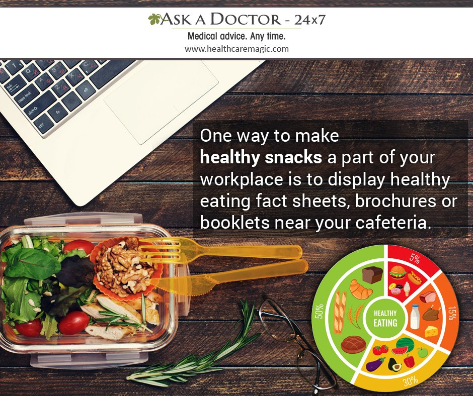 Largest Health Q&A site.  Ask a Doctor Online at      https://t.co/TwirbOpRi1  #healthysnacks #workplace #healthyeating #factsheet #brouchers #booklets #near#cafeteria#AskADoctor#DailyHealthTips#HealthcareMagic
