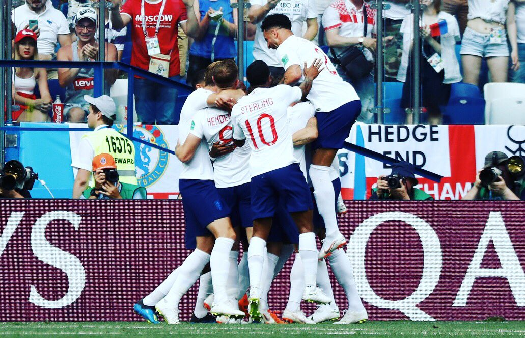 So proud of the team today. Brilliant performance from the lads. Let's carry this momentum through to the next game! #ThreeLions   <br>http://pic.twitter.com/01Nb6Hi3yf
