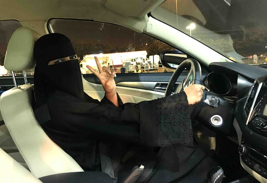 With the women driving ban lifted in Saudi Arabia for the first time, a number of job opportunities such as policewomen and saleswomen will be available to decrease the women unemployment rate, now at 33 percent https://t.co/1GILPo7PTX