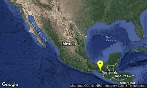test Twitter Media - SISMO Magnitud 4.5 Loc  13 km al NORESTE de VILLAFLORES, CHIS 24/06/18 10:21:45 Lat 16.32 Lon -93.20 Pf 182 km https://t.co/x2UeHhGLRK
