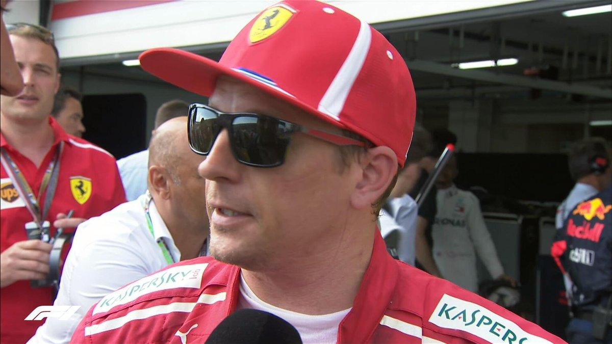 Formula 1's photo on Raikkonen