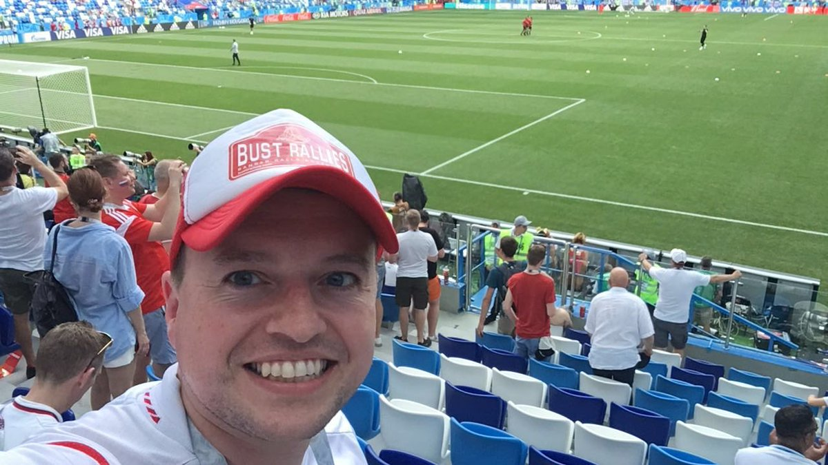 If youre watching the game today, keep your eye out for Dunc in the crowd (or on the floor) #bustrallies #ENGPAN