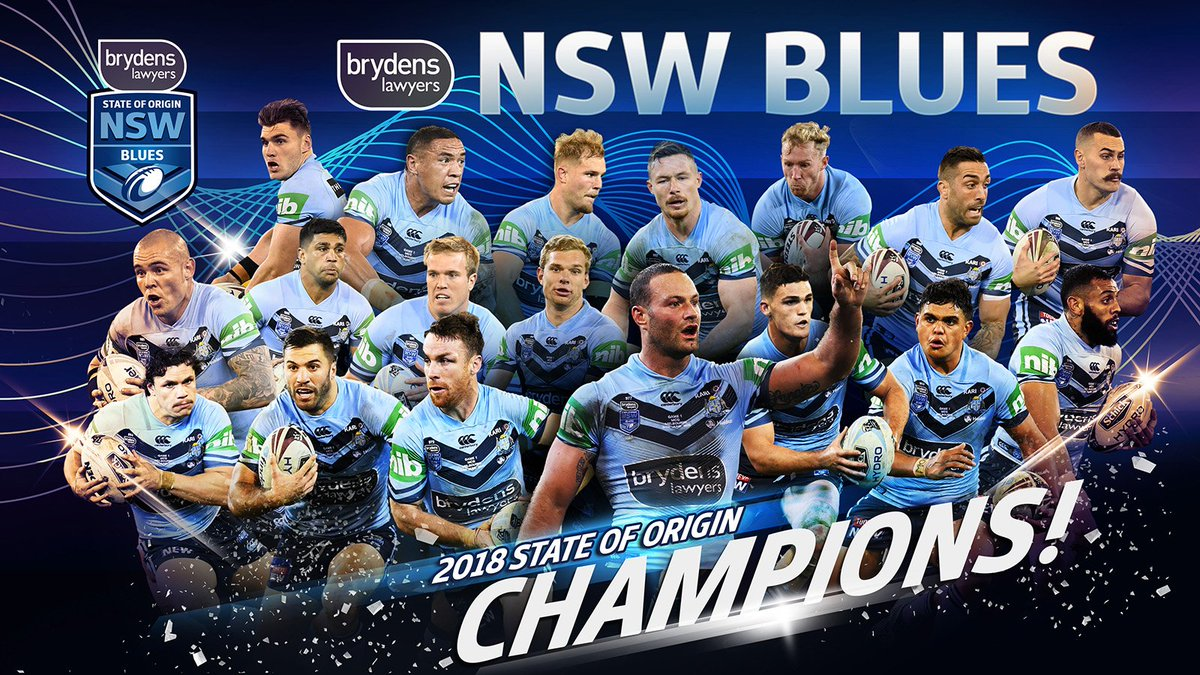 NSW Blues 🏉's photo on #Origin