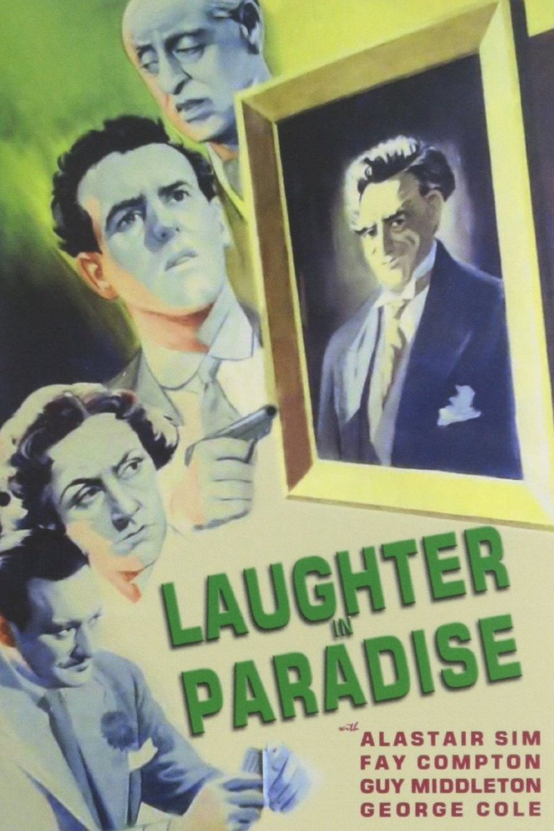 Laughter in Paradise on today 13:40 @TalkingPicsTV An eccentric leaves a small fortune. However, each person must carry out a bizarre task in order to collect. Comedy with Alastair Sim, Joyce Grenfell and George Cole #Classic #comedy<br>http://pic.twitter.com/Qe5vW0QRby