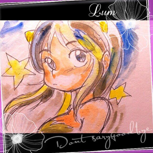 日課、リハビリ絵です、久しぶりにラムちゃん描きました(^_^;)