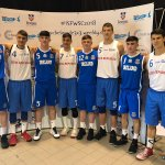 Hard luck to @gcmhuireag who narrowly lost out to Czech Republic 12-10 in their opening game of the #ISFWSC 3x3 tournament in Belgrade #FIBA3x3 #GreenShoots