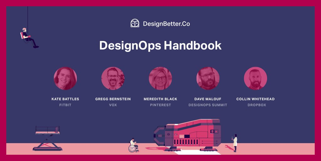 """When working in DesignOps, your team is on the front lines, helping everyone do outstanding work amid the chaos and rapid change.""–Kate Battles  Get more insights from Meredith Black, @CollinWhitehead, and more—in the DesignOps Handbook  https:// invs.io/2LJkgCh  &nbsp;   #DesignBetter<br>http://pic.twitter.com/rfz8llOogg"