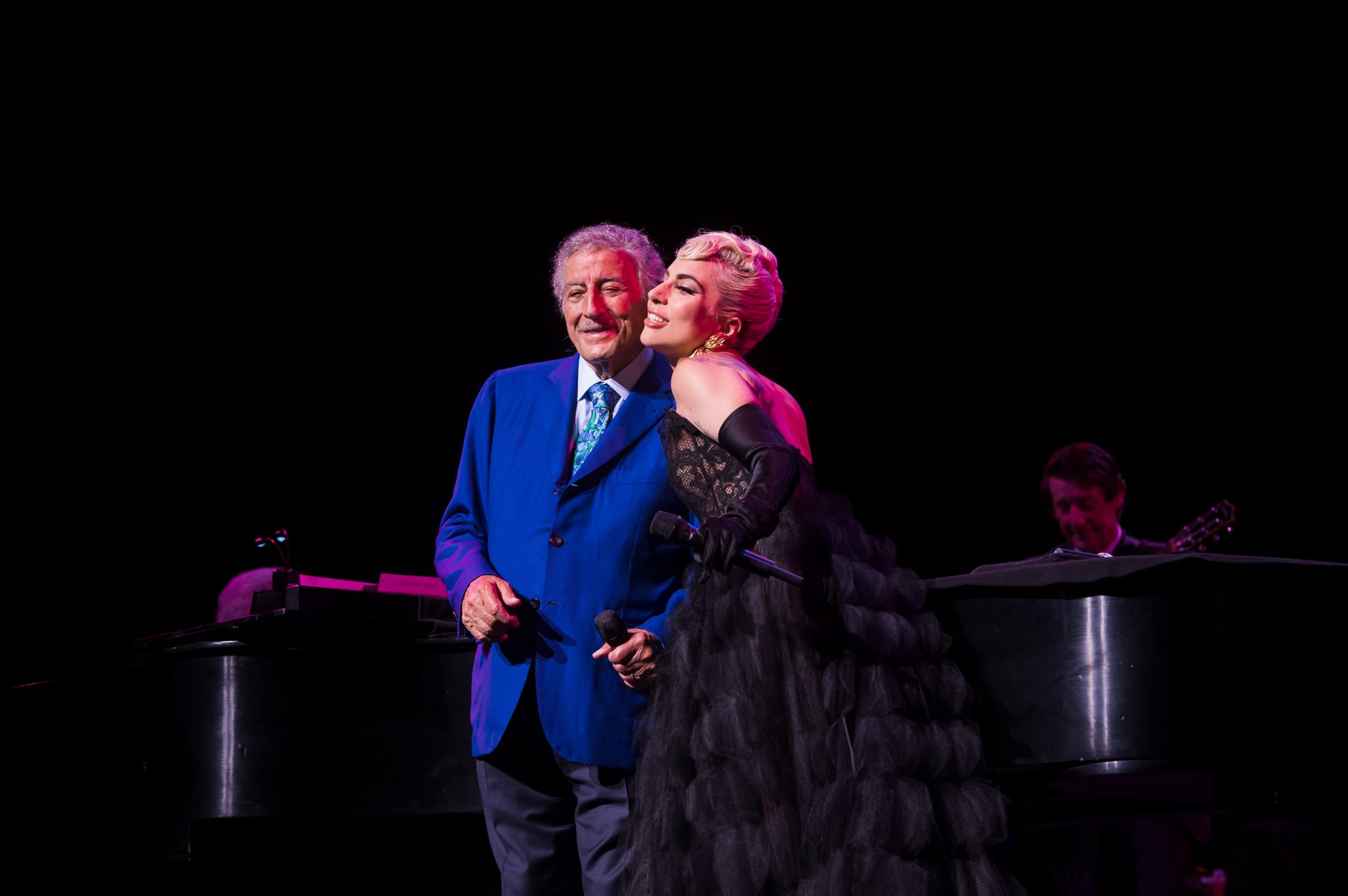 Reloaded twaddle – RT @Wolf_Trap: Surprise! Look who joined @itstonybennett on stage for a couple d...