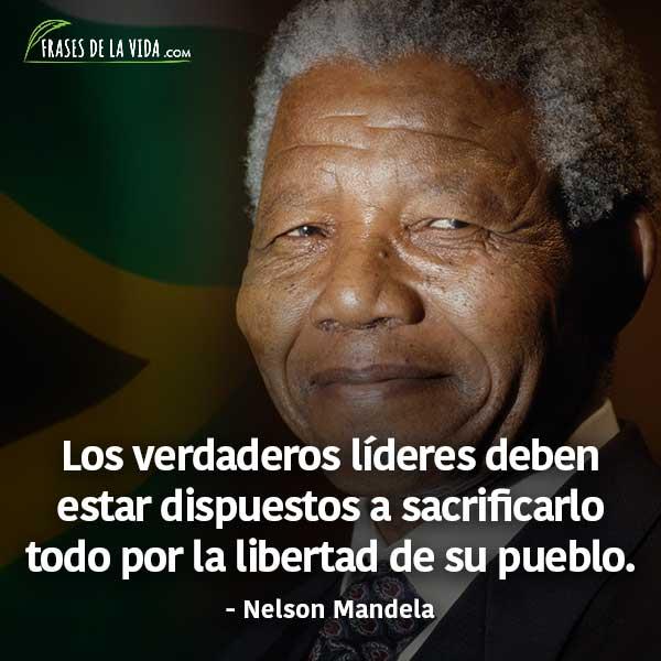 Frases De La Vida On Twitter Nelson Mandela Es Todo Un