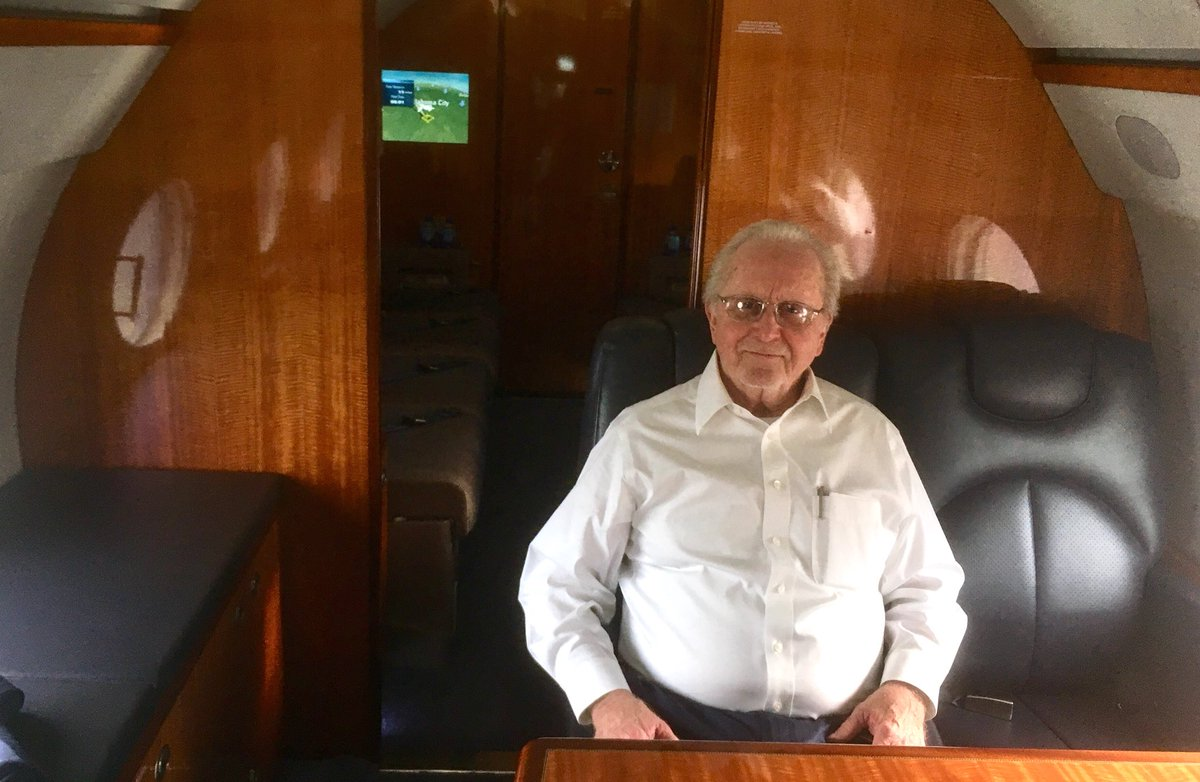 Pastor General Gerald Flurry is en route aboard the church's G450 jet to Toronto, Canada for today's Personal Appearance Campaign. <br>http://pic.twitter.com/wuca49V8Fq
