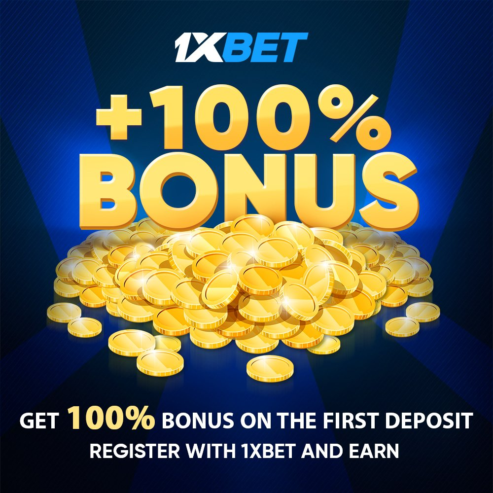 1xbet 100 бонус