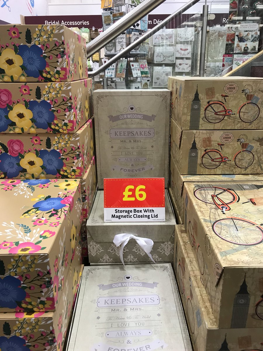 Hobbycraft Gateshead On Twitter Our Magnetic Closing Storage Boxes