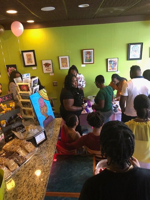 Swipe  D. Rose and Monet Presents... Lit &amp; Complete Book Release. Another awesome book signing at More Than Java Café! #booksigning #morethanjavacafe #mainstreet #laurel #maryland #dmv #read<br>http://pic.twitter.com/6bsZEXvVac
