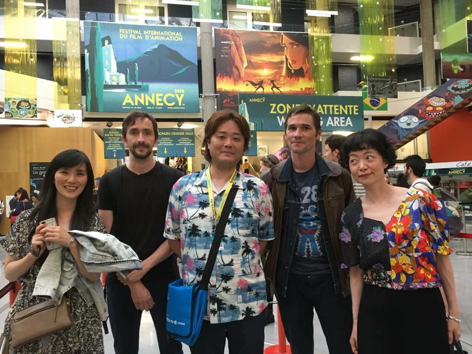 Goodbye @annecyfestival ! Great feedbacks about Dreamland's projection, amazing selection. We're so happy !! Thanks to Carte Blanche Production and Mirai Mizue<br>http://pic.twitter.com/shVYtiED6i
