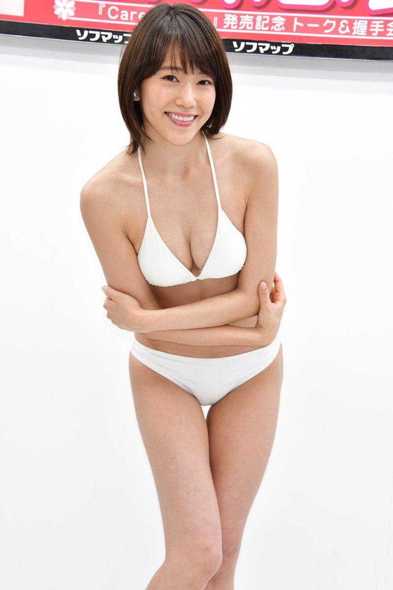 白川悠衣 白ビキニ ソフマップ 画像