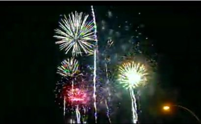 Many fireworks, like spinners & cone fountains, can legally be used on private property in Arizona starting today. Firecrackers and fireworks that launch into the air, like roman candles and bottle rockets, are prohibited in Arizona.