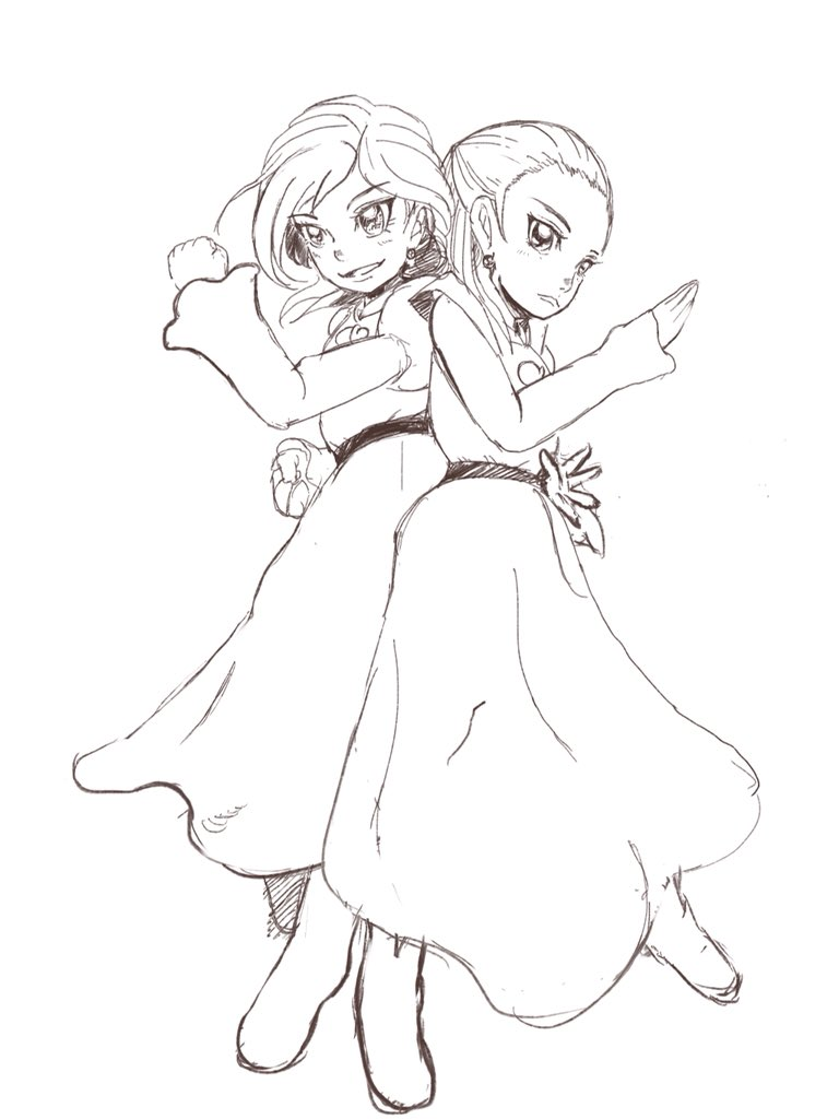 まめポテト@S☆S方面アイカツ!行 (@mamepotato2)さんのイラスト