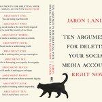 """Kauft """"Zehn Gründe, warum du deine Social Media Accounts sofort löschen musst."""" Das wichtigste Buch 2018 ist kompakt und rettet Eure Seelen. https://t.co/OsEjkHXwQi"""