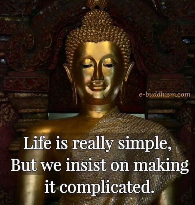 Life is really simple, but we insist on making it complicated.  #quote #citation #life #BeDifferent #ThinkBIGSundayWithMarsha<br>http://pic.twitter.com/TAN6BRYNEs