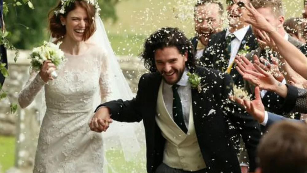 Game of Thrones stars Kit Harington and Rose Leslie marry in Scotland https://t.co/mlAxSxqGvA
