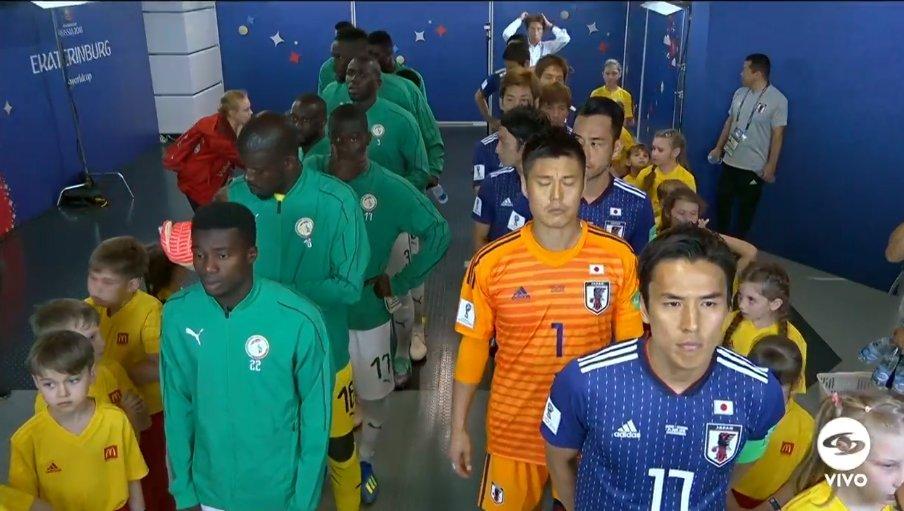 Japón rescata empate 2-2 ante Senegal
