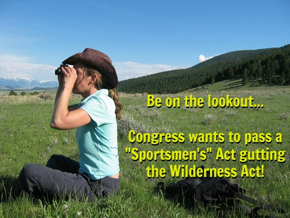 Heads up #PublicLandOwner! The #NRA&#39;s so-called &quot;Sportsmen's Heritage and Recreational Enhancement (SHARE) Act&quot; threatens every unit of America&#39;s National Wilderness Preservation System. Please act now to defend our wildest #publiclands:  http:// bit.ly/2eHk1JO  &nbsp;  <br>http://pic.twitter.com/5fg12jzqXo