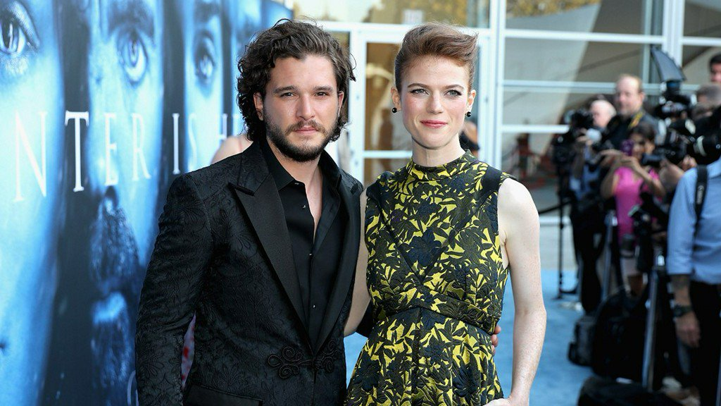 'Game of Thrones' co-stars Kit Harington, Rose Leslie wed in Scotland https://t.co/VaqVQZubx4