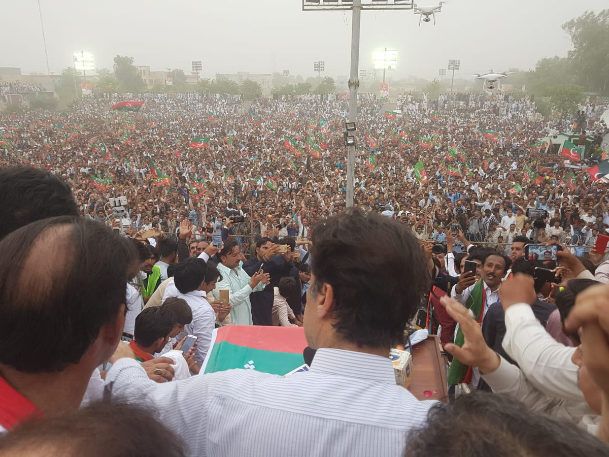 imran khans election campaign - 850×478
