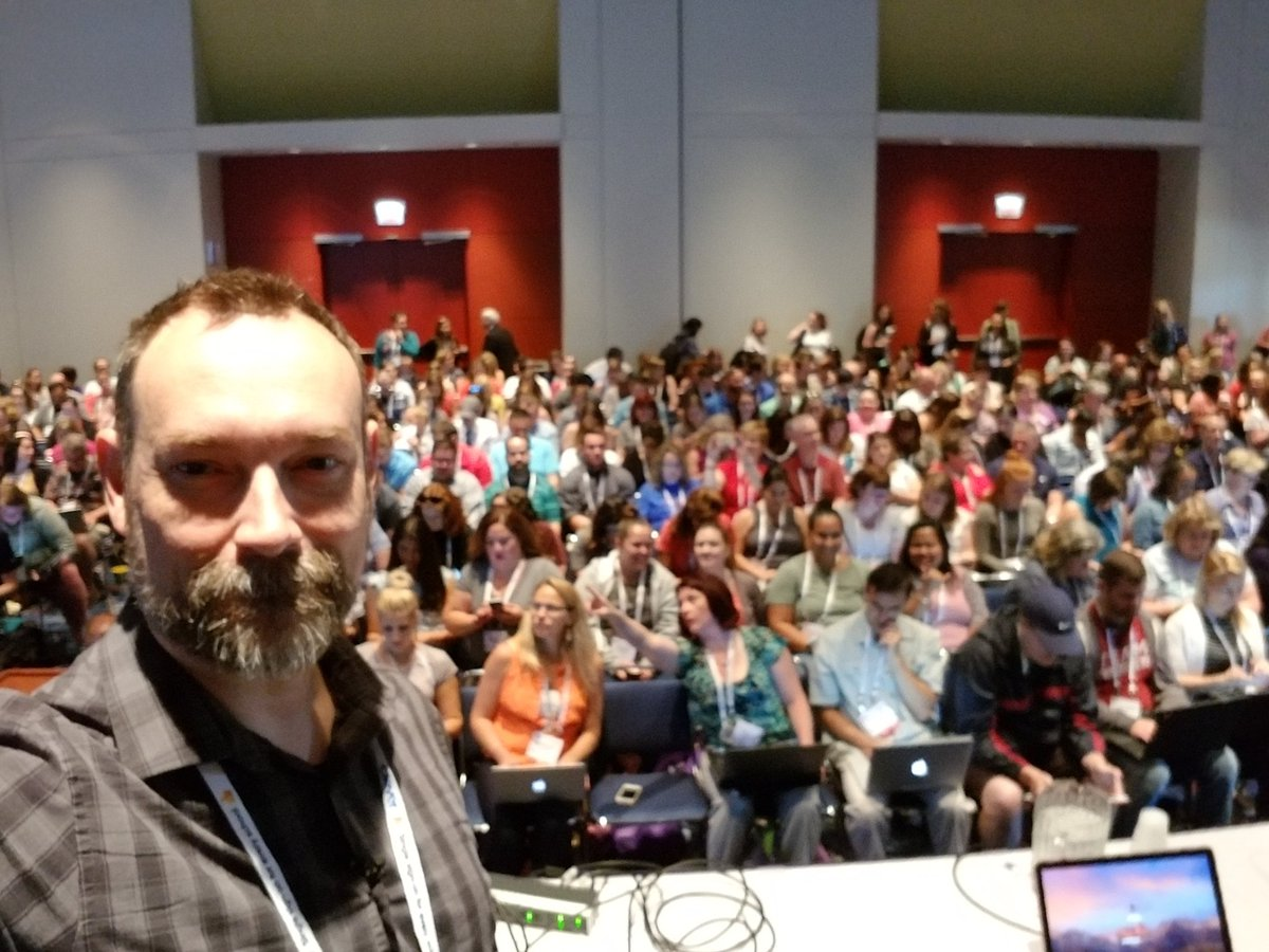 Eric Curts's photo on #ISTE18