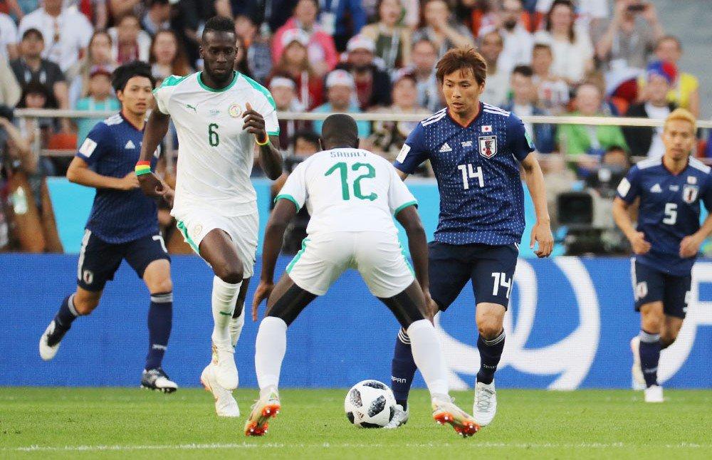 サッカーW杯の日本―セネガル戦前半、セネガルが先制しました。#worldcup2018_nikkei  【ビジュアルブログ】 https://t.co/MfDrYmEC31 【試合詳細】 https://t.co/jmimaVIUE3