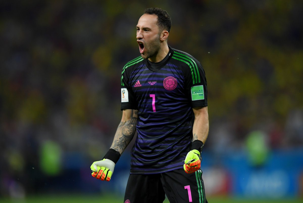 First win at the 2018 #WorldCup   And this is what it means - congratulations, @D_Ospina1 and #COL <br>http://pic.twitter.com/VyZWHOOKN6