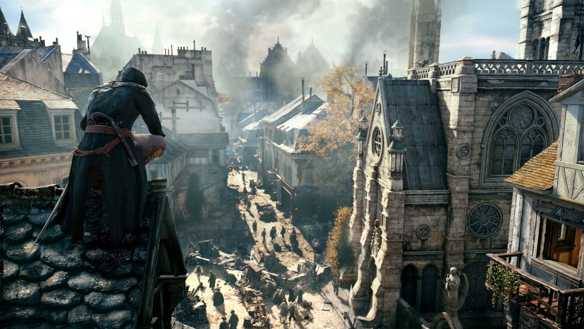 Assassin&#39;s Creed: Unity is 60% off at PS Store this weekend! Leave your mark on the centuries-old struggle between Assassins and Templars during the French Revolution:  https:// play.st/2tlNCA3  &nbsp;  <br>http://pic.twitter.com/iBV2aR6HCY