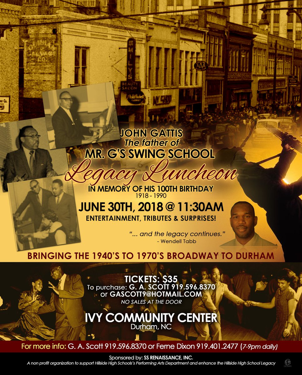 Black Nativity Durham On Twitter Legacy Luncheon In Memory Of The