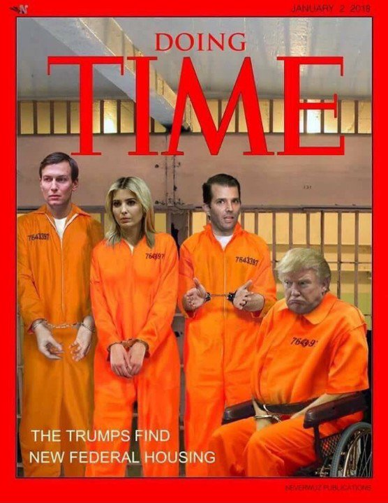 IF WE ASSUME EVERYONE IS #GUILTY then DEMOCRACY LOSES! So the ONLY THING SAVING the #TrumpCrimeFamily ASS is THAT WE HAVE LAWS! Otherwise YOUR SORRY ASS, ALONG with THOSE #TrumpFamilyGrifters WOULD BE IN JAIL FOR TREASON! #TrumpRussia #TrumpColluded #TrumpObstructionOfJustice <br>http://pic.twitter.com/rk5Qg6YhYW
