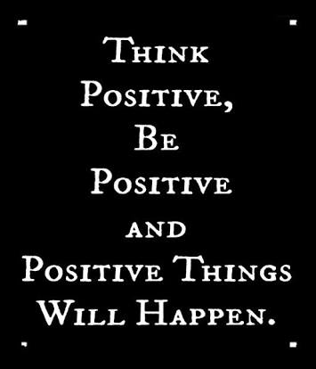 THINK POSITIVE,  BE POSITIVE  AND  POSITIVE THINGS  WILL HAPPEN.   #quote #citation #BeDifferent #ThinkBIGSundayWithMarsha<br>http://pic.twitter.com/FYF8Yo618F