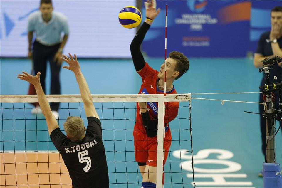 Czech Republic, Portugal set for the FIVB #ChallengerCup Final 🏆 with the winner moving into the #VNL in 2019! It starts in 30 minutes!  Look back on how they got to the final: https://t.co/s8eh9BfVvm  #volleyball @CzechVolleyball @FPVoleibol