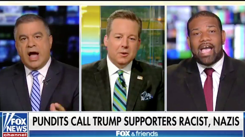 WATCH: Ex-Trump adviser tells black Fox News guest he's 'out of his cotton-picking mind' https://t.co/POgcmQ7vut