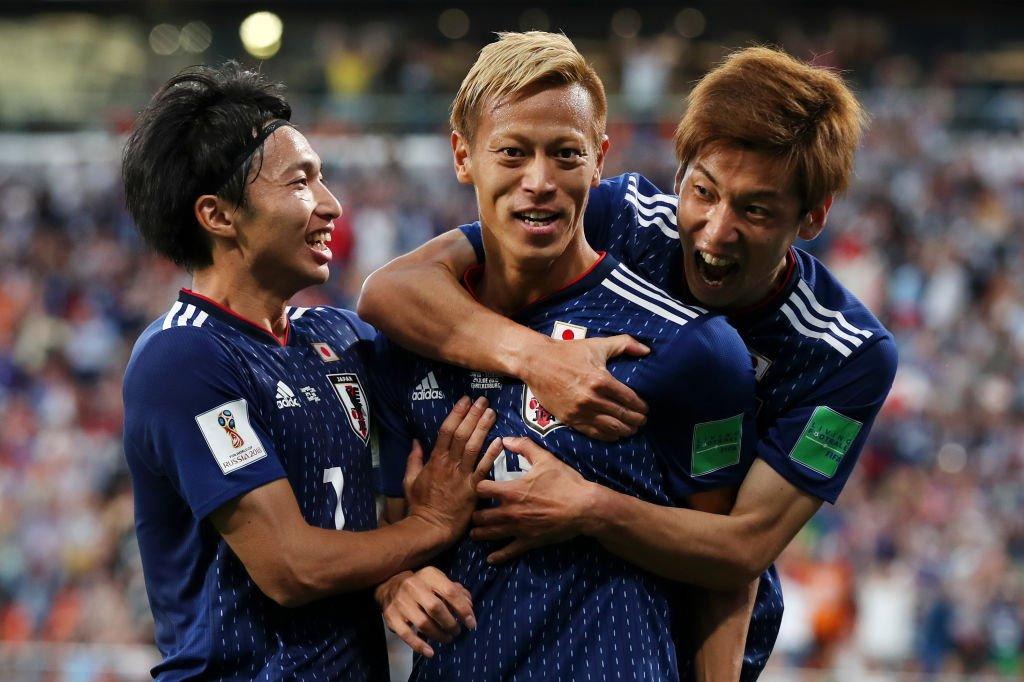 【ロシアW杯速報】試合終了  🇯🇵日本 2-2 セネガル🇸🇳  二度のビハインドを追いつき、価値あるドロー! GL突破を賭け、最終節はポーランドと激突する。(写真:ゲッティ)  #ケイスケホンダ #daihyo