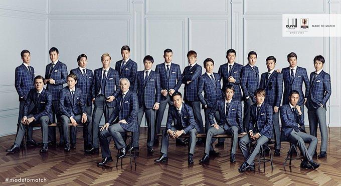 サッカー日本xセネガルは2-2の同点。決勝トーナメントに一歩近づく。歴代のオフィシャルスーツ「勝負服」をおさらい https://t.co/qJ5qnbFrMv