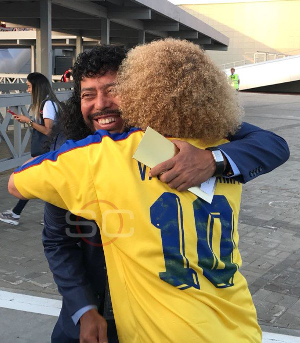 SportsCenter's photo on Higuita y Valderrama