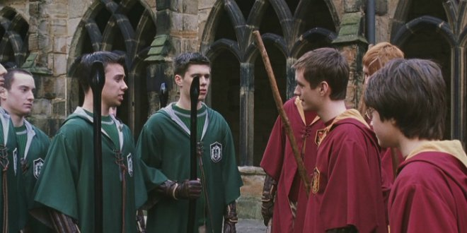 Do you think there will ever be a #Gryffindor / #Slytherin truce? buff.ly/2sZe7uP
