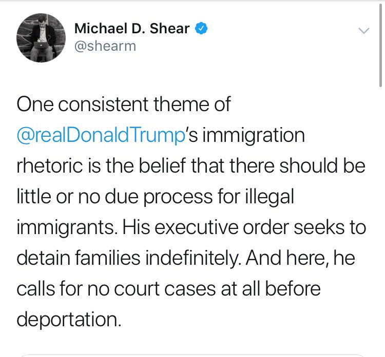 It's not due process *for* illegal immigrants.   Without due process there's nothing stopping an ICE agent from deporting his ex-wife's new boyfriend or a New York Times White House correspondent.