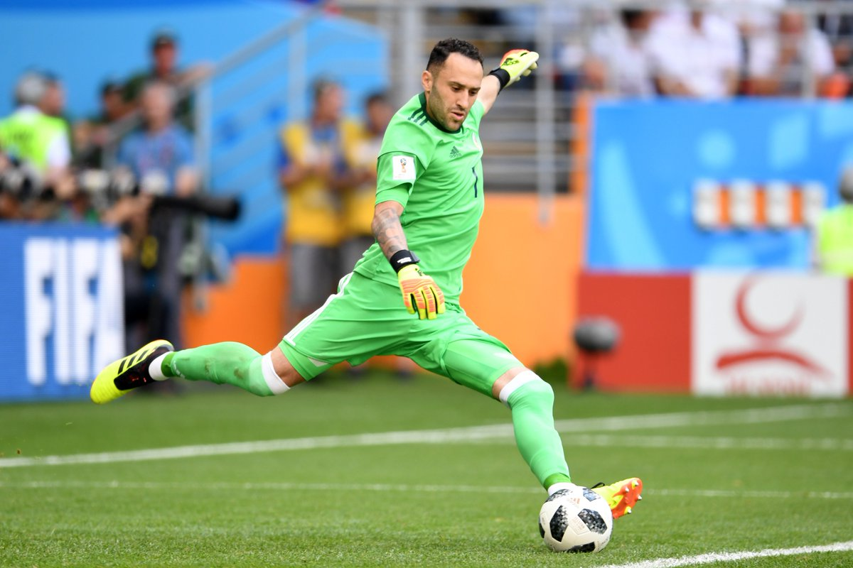 This guy starts for #COL  against #POL  tonight  Kick-off is at 7pm (UK time) - good luck, @D_Ospina1   #WorldCup <br>http://pic.twitter.com/oW71nZJ20G