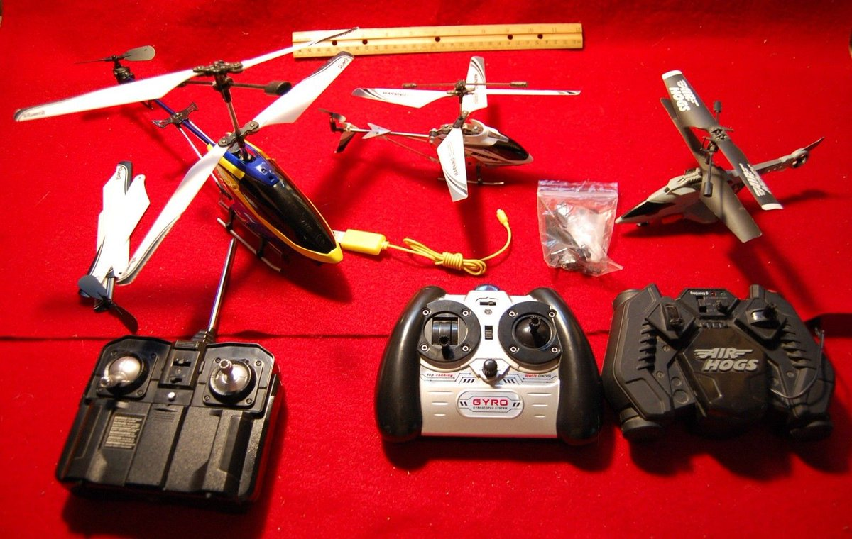 Air hogs Silverlit Helicopter manual